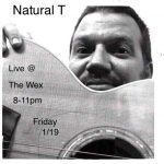 1月19日の金曜日は Natural T だっ