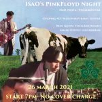3月26日の金曜日は、Isao's Pink Floyd Night.